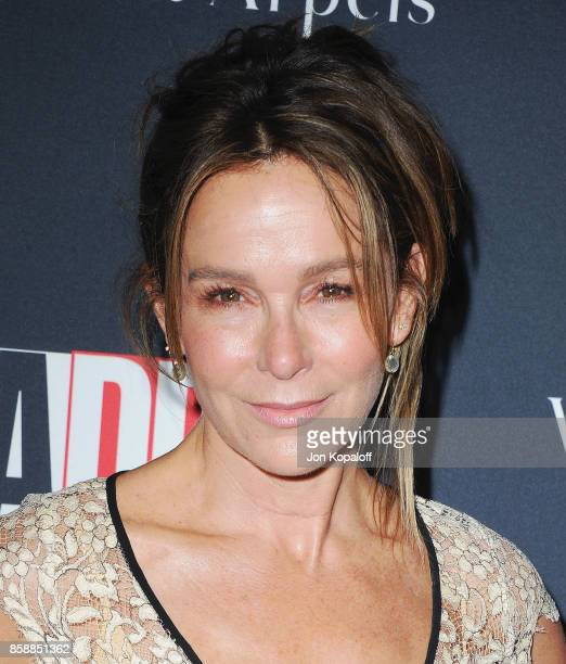 Actress Jennifer Grey arrives at the LA Dance Project's Annual Gala at LA Dance Project on October 7 2017 in Los Angeles California