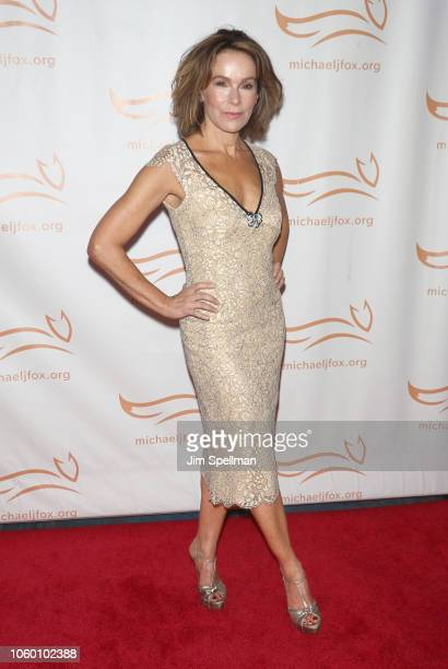 Actress Jennifer Grey attends A Funny Thing Happened on the Way to Cure Parkinson's 2018 at the Hilton New York on November 10 2018 in New York City