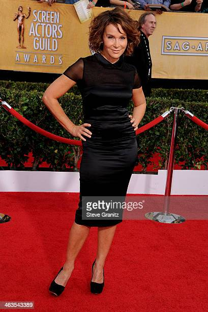 Actress Jennifer Grey attends the 20th Annual Screen Actors Guild Awards at The Shrine Auditorium on January 18 2014 in Los Angeles California