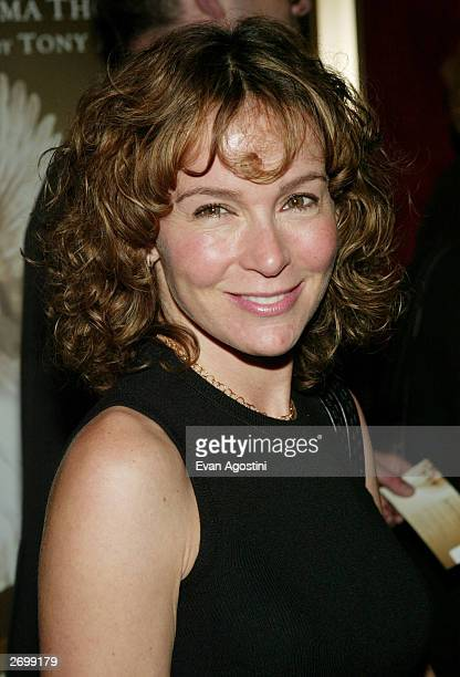 Actress Jennifer Grey attends the HBO FILMS Premiere of Angels In America at The Ziegfeld Theater November 04 2003 in New York City