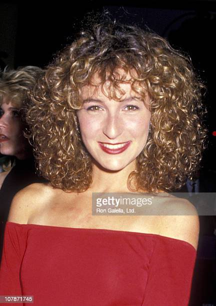 Actress Jennifer Grey attends the premiere of Dirty Dancing on August 17 1987 at the Gemini Theater in New York City