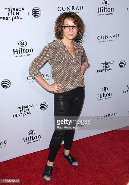 Actress Jennifer Grey attends the Tribeca Film Festival 2014 celebration at The Beverly Hilton Hotel on March 17 2014 in Beverly Hills California