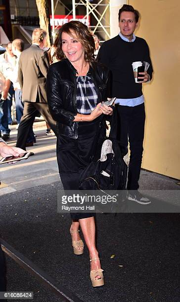 Actress Jennifer Grey is seen in Midtown on October 21 2016 in New York City