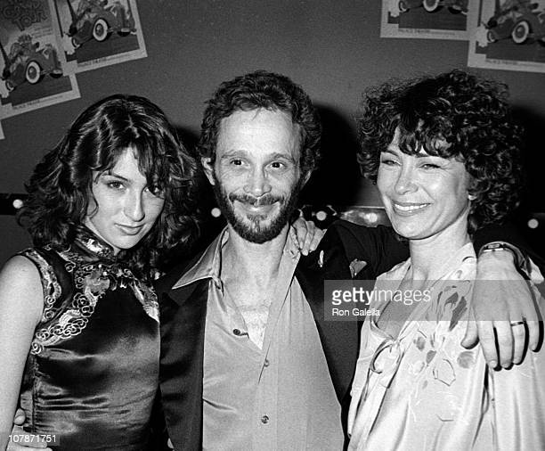 "Actress Jennifer Grey, Joel Grey and Jo Grey attend the premiere party for ""The Grand Tour"" on January 11, 1979 at the Ziegfeld Theater in New York..."