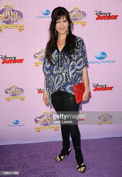 Actress Jennifer Hale attends the premiere of 'Sofia The First Once Upon a Princess' at Walt Disney Studios on November 10 2012 in Burbank California