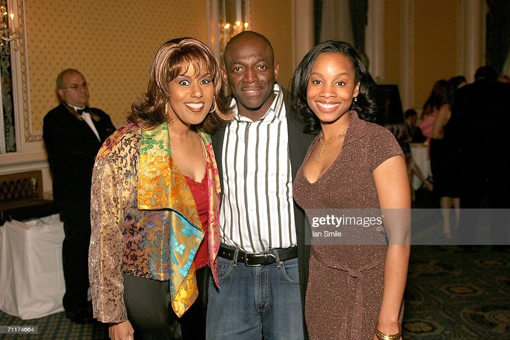Actress Jennifer Holliday, actor Hinton Battle and actress Anika Noni Rose pose at The Tony Awards Honor Presenters And Nominees at the Waldorf Astoria on June 10, 2006 in New York.