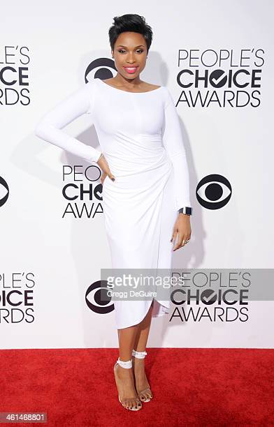 Actress Jennifer Hudson arrives at the 40th Annual People's Choice Awards at Nokia Theatre LA Live on January 8 2014 in Los Angeles California