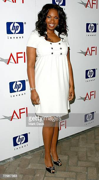 Actress Jennifer Hudson arrives at the 7th Annual AFI Awards luncheon held at the Four Seasons Hotel on January 12 2007 in Los Angeles California