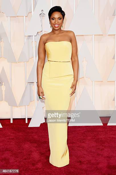 Actress Jennifer Hudson attends the 87th Annual Academy Awards at Hollywood Highland Center on February 22 2015 in Hollywood California