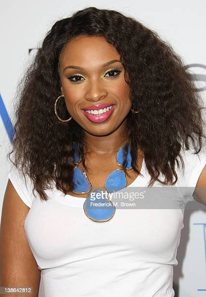Actress Jennifer Hudson attends the Premiere of Screen Gems' 'Think Like A Man' at the ArcLight Cinemas Cinerama Dome on February 9 2012 in Hollywood...