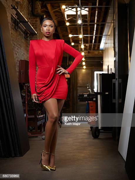 Actress Jennifer Hudson is photographed for Ebony Magazine on July 21 2015 in New York City