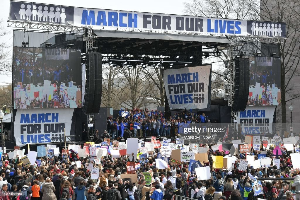 """March For Our Lives"" Rallies Across The U.S."