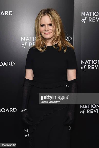 Actress Jennifer Jason Leigh attends 2015 National Board of Review Gala at Cipriani 42nd Street on January 5 2016 in New York City