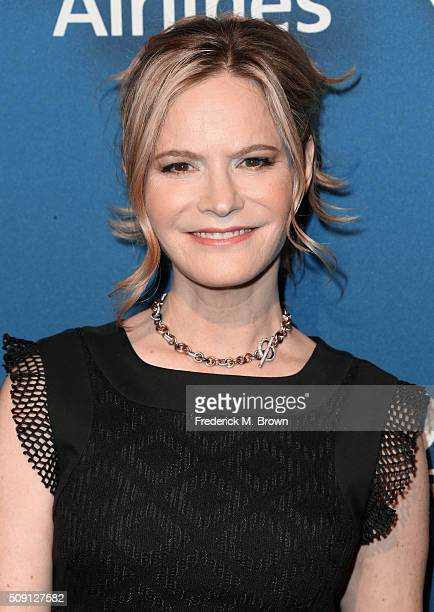 Actress Jennifer Jason Leigh attends The Hollywood Reporter's 4th Annual Nominees Night at Spago on February 8 2016 in Beverly Hills California