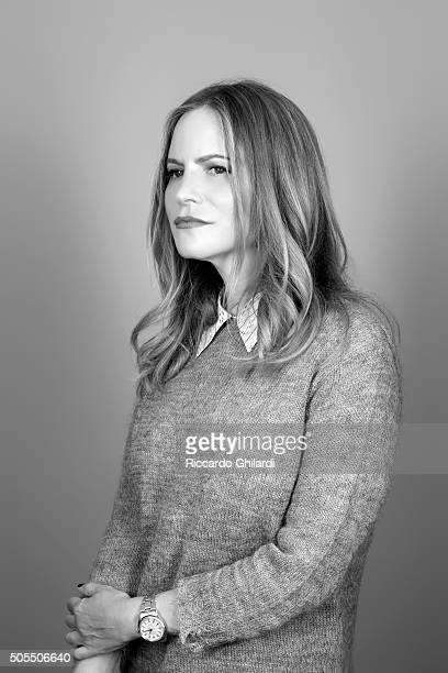 Actress Jennifer Jason Leigh is photographed for Self Assignment on September 9 2015 in Rome Italy