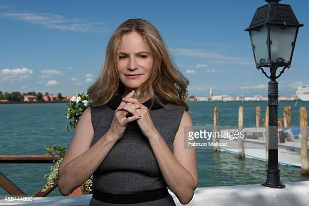 Actress Jennifer Jason Leigh is photographed for The Hollywood Reporter on September 5, 2015 in Venice, Italy.