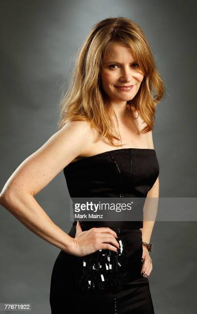 Actress Jennifer Jason Leigh of the film Margot at the Wedding poses in the portrait studio during AFI FEST 2007 presented by Audi held at ArcLight...