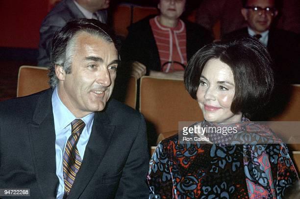 Actress Jennifer Jones and former husband Robert Walker