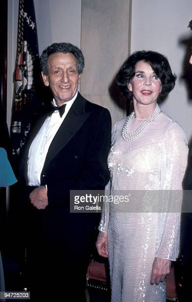 Actress Jennifer Jones and husband Norton Simon