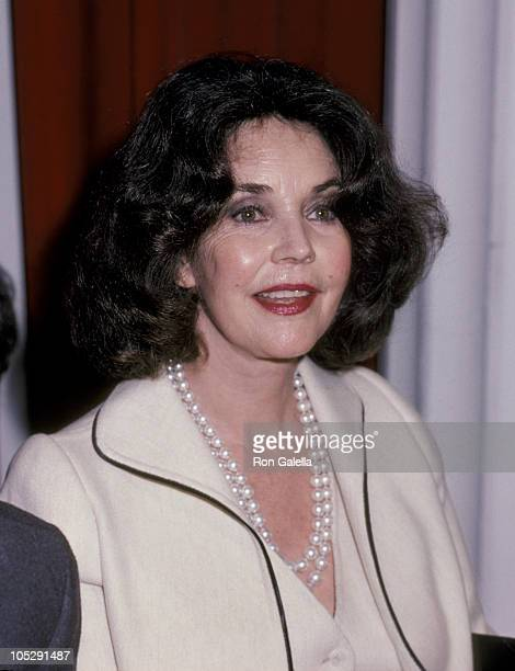 Actress Jennifer Jones during Talent Agents Awards Luncheon February 16 1983 at Beverly Hills Hotel in Beverly Hills California United States