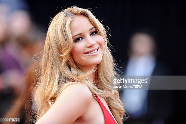 Actress Jennifer Lawrence arrives at the 83rd Annual Academy Awards held at the Kodak Theatre on February 27 2011 in Hollywood California