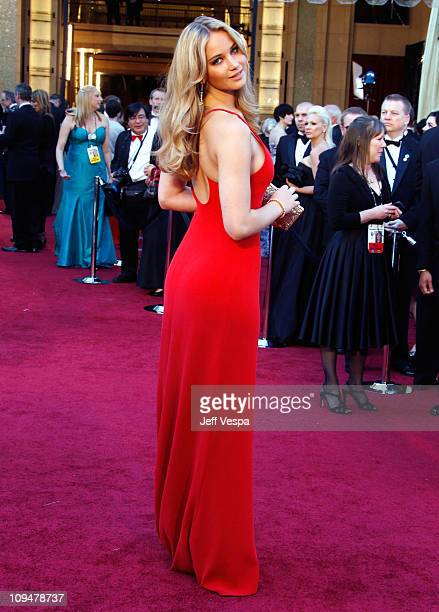 Actress Jennifer Lawrence arrives at the 83rd Annual Academy Awards held at the Kodak Theatre on February 27 2011 in Los Angeles California