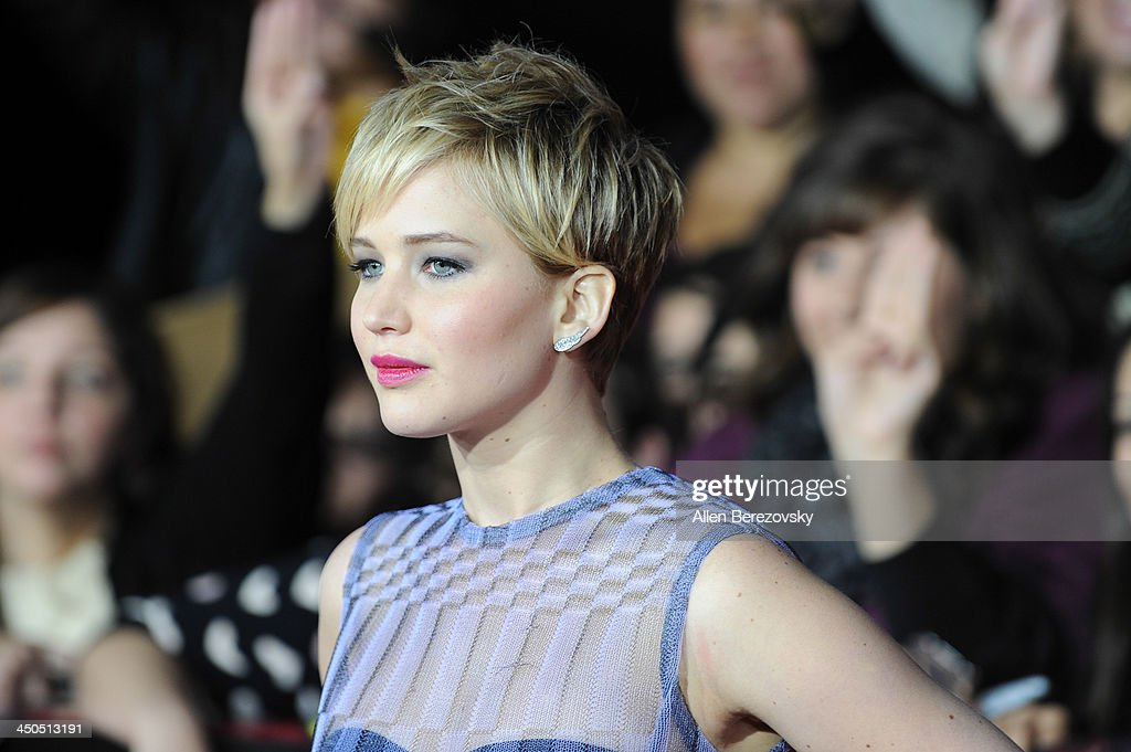 """""""The Hunger Games: Catching Fire"""" - Los Angeles Premiere : News Photo"""