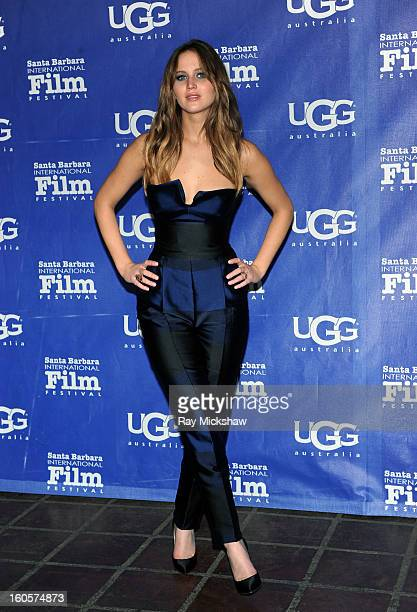Actress Jennifer Lawrence attends the 28th Santa Barbara International Film Festival Outstanding Performer Of The Year Presented To Jennifer Lawrence...