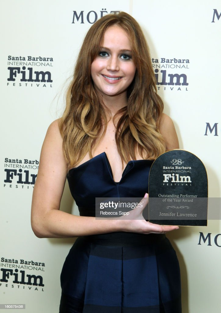 28th Santa Barbara International Film Festival - Outstanding Performer Of The Year Presented To Jennifer Lawrence