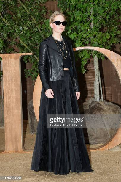 Actress Jennifer Lawrence attends the Christian Dior Womenswear Spring/Summer 2020 show as part of Paris Fashion Week on September 24 2019 in Paris...