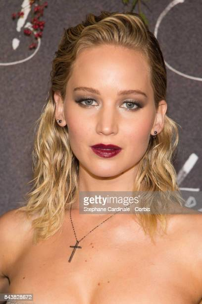 Actress Jennifer Lawrence attends the French Premiere of 'mother' at Cinema UGC Normandie on September 7 2017 in Paris France