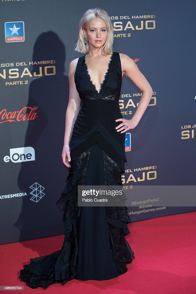 'Los Juegos Del Hambre: Sinsajo - Part 2' Madrid Premiere : News Photo