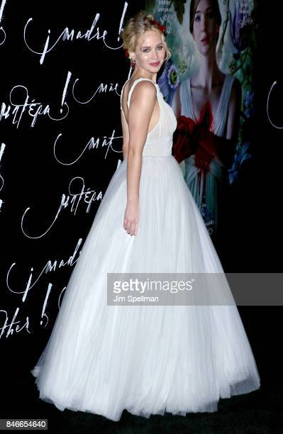 Actress Jennifer Lawrence attends the 'mother' New York premiere at Radio City Music Hall on September 13 2017 in New York City