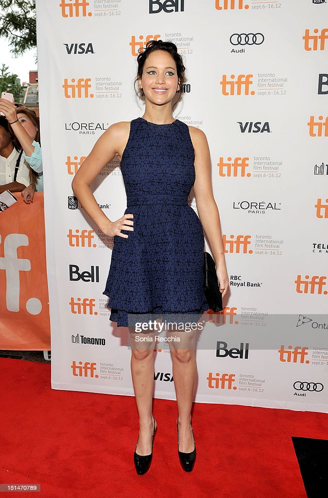 Actress Jennifer Lawrence attends 'The Place Beyond The Pines' premiere during the 2012 Toronto International Film Festival at Princess of Wales Theatre on September 7, 2012 in Toronto, Canada.