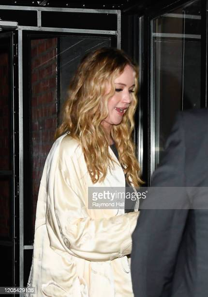 Actress Jennifer Lawrence attends the premiere of 'Big Time Adolescence' on March 5 2020 in New York City