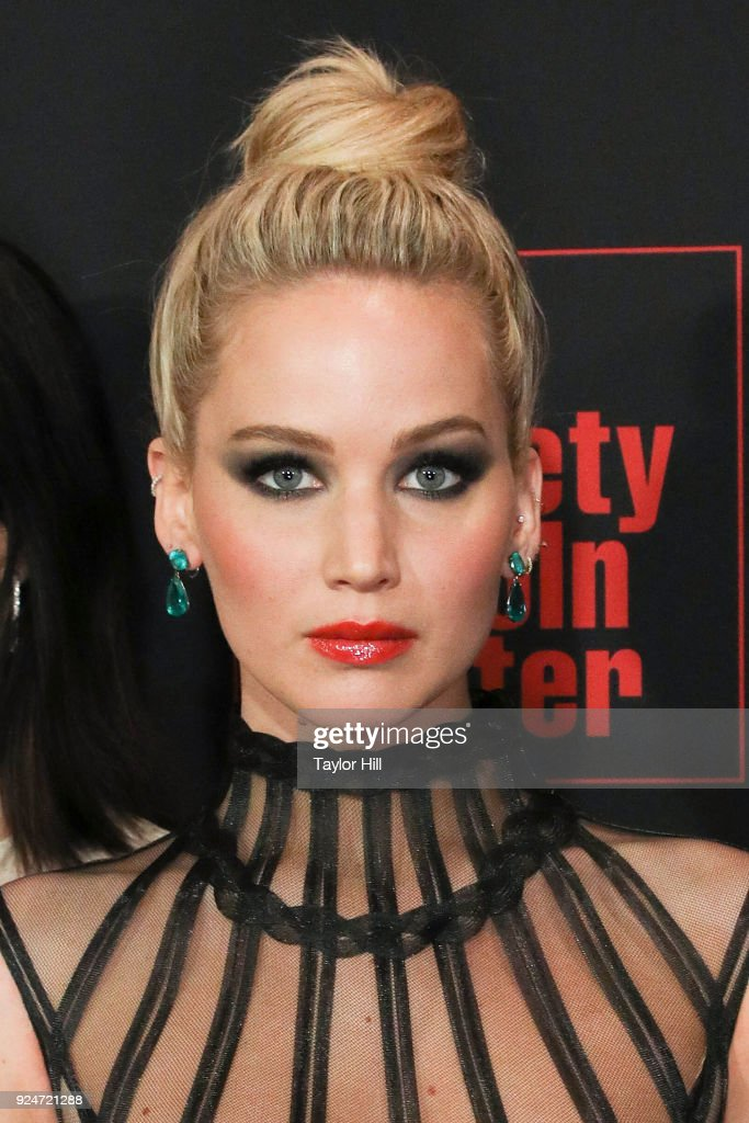 """""""Red Sparrow"""" New York Premiere : News Photo"""