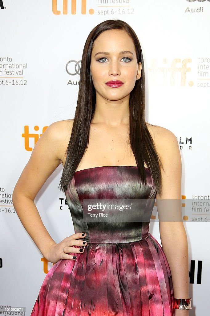 Actress Jennifer Lawrence attends the 'Silver Linings Playbook' premiere during the 2012 Toronto International Film Festiva at Roy Thomson Halll on September 8, 2012 in Toronto, Canada.