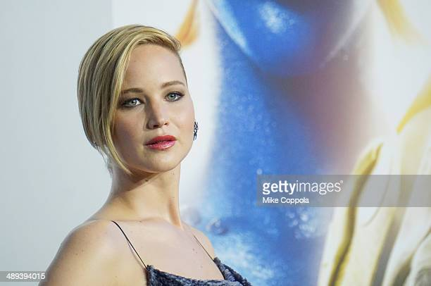 Actress Jennifer Lawrence attends the 'XMen Days Of Future Past' world premiere at Jacob Javits Center on May 10 2014 in New York City