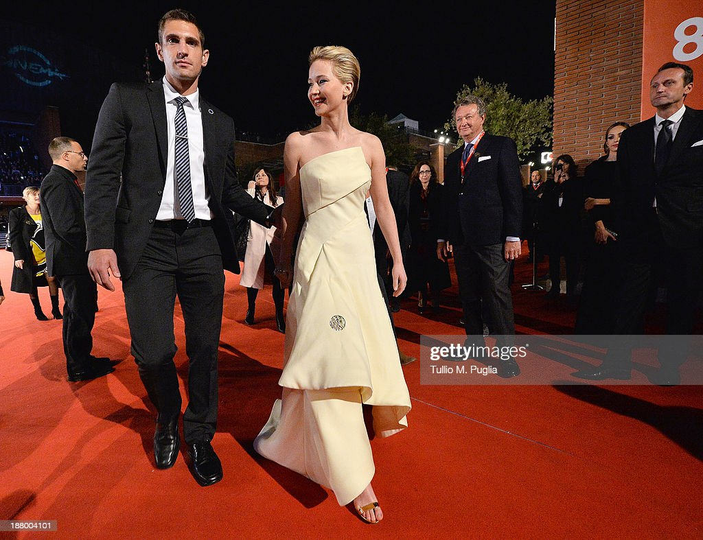 'The Hunger Games: Catching Fire' Premiere  - The 8th Rome Film Festival : News Photo