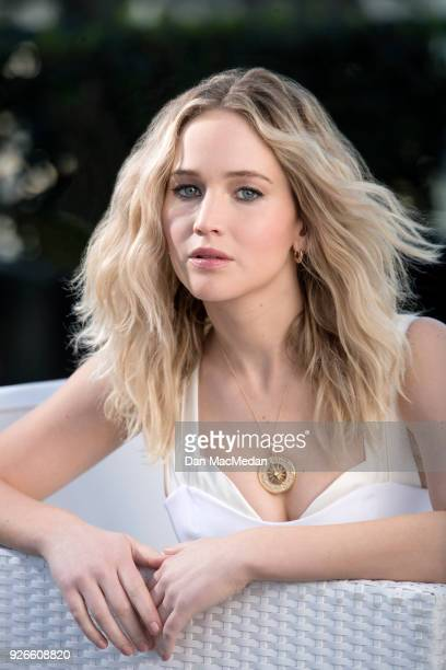 Actress Jennifer Lawrence is photographed for USA Today on February 9 2018 in Hollywood California