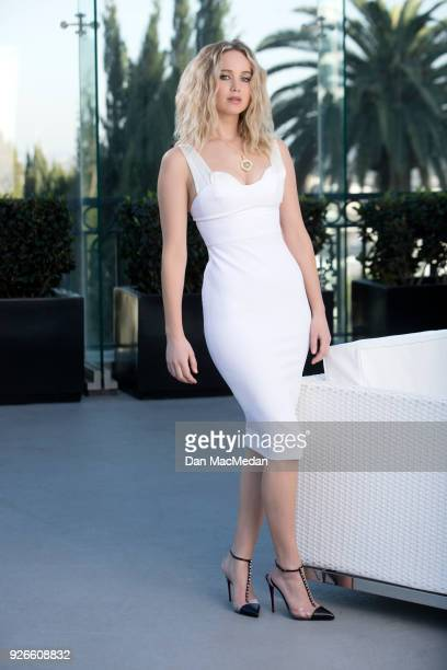 Actress Jennifer Lawrence is photographed for USA Today on February 9 2018 in Hollywood California PUBLISHED IMAGE