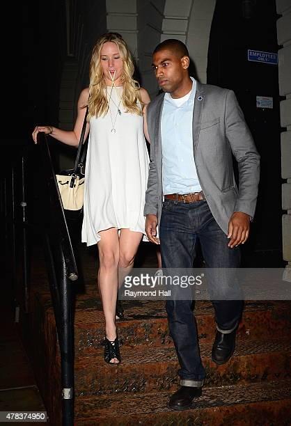 Actress Jennifer Lawrence is seen walking iSoho on June 24 2015 in New York City