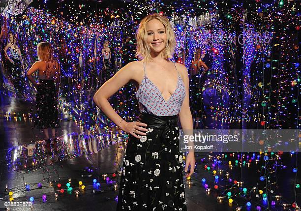 """Actress Jennifer Lawrence poses at the photo call for Columbia Pictures' """"Passengers"""" at the Four Seasons Hotel Los Angeles at Beverly Hills on..."""