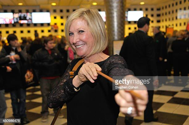 Actress Jennifer Lawrence's mother Karen Lawrence attends the The Hunger Games Catching Fire Louisville Screening at Cinemark Tinseltown USA on...