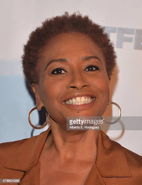 Actress Jennifer Lewis arrives to the Outfest Fusion LGBT People of Color Film Fetival Opening Night Screening of Blackbird at the Egyptian Theatre...