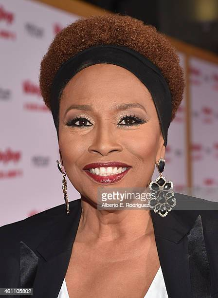 Actress Jennifer Lewis arrives to the premiere of Screen Gems' The Wedding Ringer at the TCL Chinese Theatre on January 6 2015 in Hollywood California