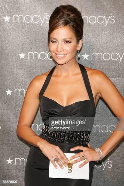 Actress Jennifer Lopez arrives at the 2005 Macy's Passport Gala held at Barker Hanger on September 29, 2005 in Santa Monica, California.