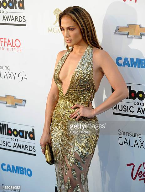 Actress Jennifer Lopez arrives at the 2013 Billboard Music Awards at the MGM Grand Garden Arena on May 19 2013 in Las Vegas Nevada