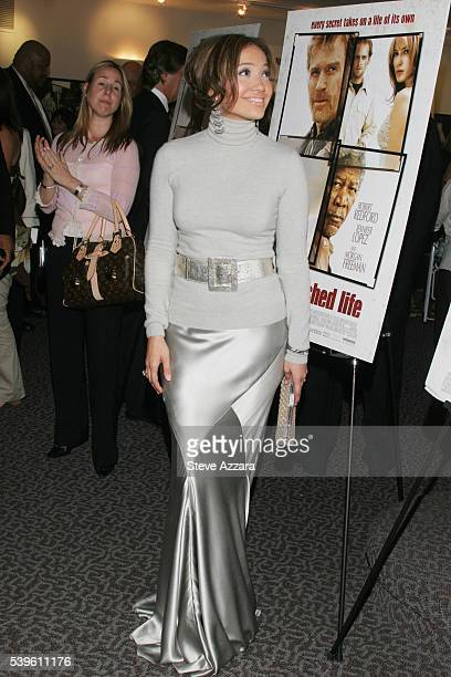 Actress Jennifer Lopez arrives at the premiere of An Unfinished Life directed by Lasse Hallstrom in New York City Lopez costars with Robert Redford...