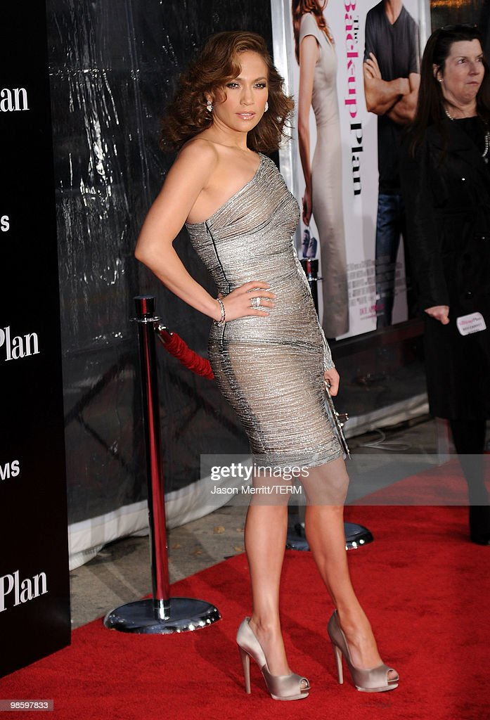 Actress Jennifer Lopez arrives at the premiere of CBS Films' 'The Back-up Plan' held at the Regency Village Theatre on April 21, 2010 in Westwood, California.